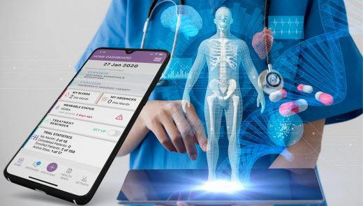 Healthentia App for INTERFACE